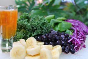 Superfoods im grünen Smoothie